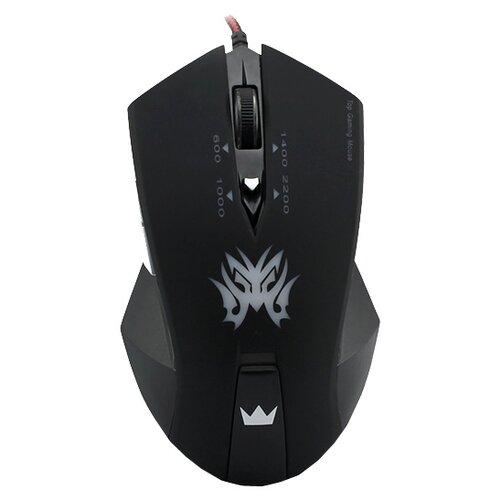 Мышь CROWN MICRO CMXG-602 Black USB черный игровая мышь crown gaming cmxg 605 black gold
