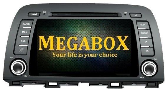 Автомагнитола Megabox Mazda CX-5 CE6630