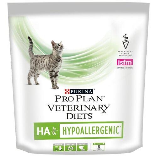 Фото - Корм для кошек Pro Plan Veterinary Diets Feline HA Hypoallergenic dry (0.325 кг) корм для кошек pro plan veterinary diets feline en gastrointestinal canned 0 195 кг 24 шт