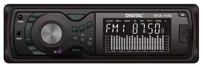 Автомагнитола DIGITAL DCA-112