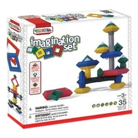 Конструктор WEDGiTS Imagination Set 300652 35 деталей