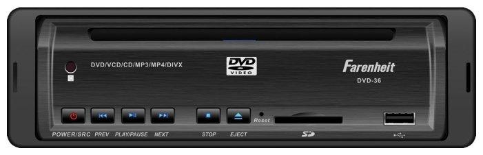 Автомагнитола Farenheit DVD-37T