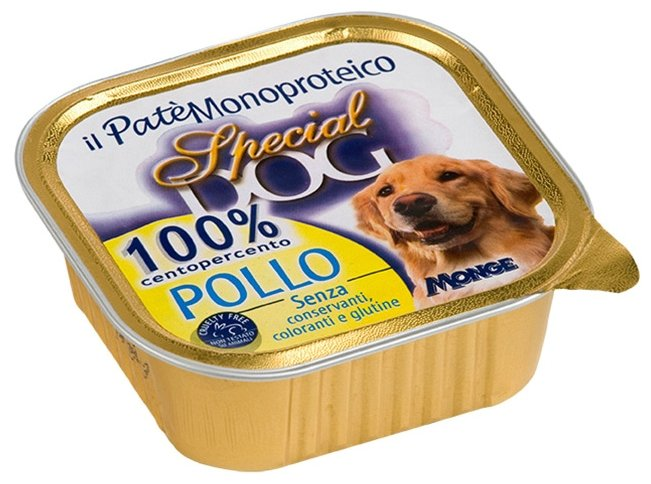 Корм для собак Special Dog Паштет из 100% мяса Курицы (0.300 кг) 1 шт.