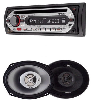 Автомагнитола Sony CXS-GT2169