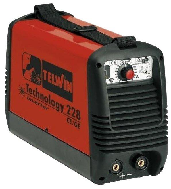 Сварочный аппарат Telwin Technology 228 CE/GE (TIG, MMA)
