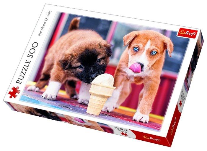 Пазл Trefl Время для мороженого (37272), 500 дет.