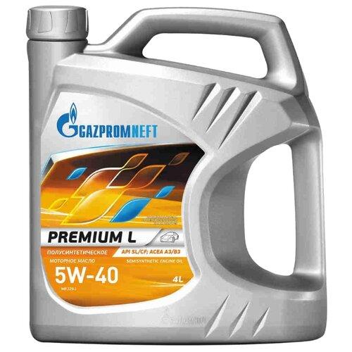 Моторное масло Газпромнефть Premium L 5W-40 4 л