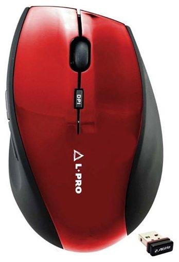 Мышь L-PRO 601/1258 Red USB