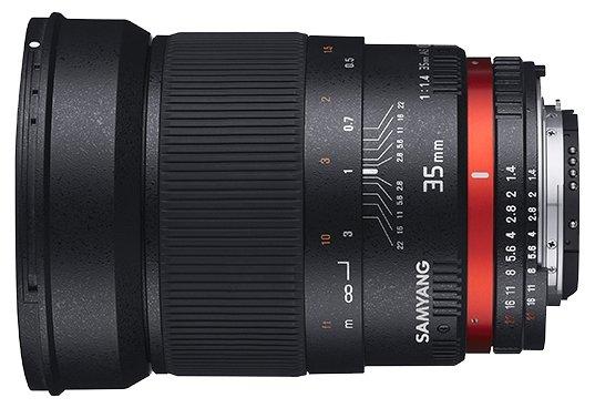 Samyang Объектив Samyang 35mm f/1.4 ED AS UMC Fujifilm X