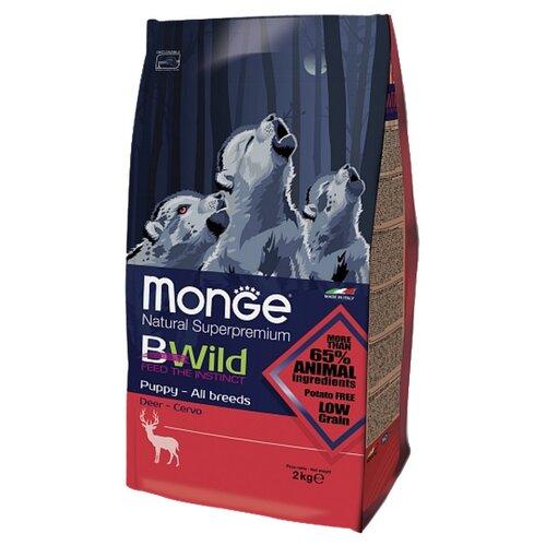 Корм для собак Monge (2 кг) Bwild Dog Puppy DeerКорма для собак<br>