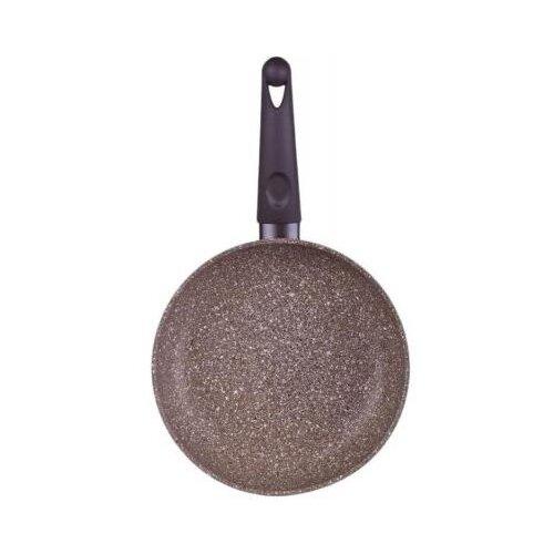 Сковорода TimA TVS Art Granit AT-1124 24 см, коричневый