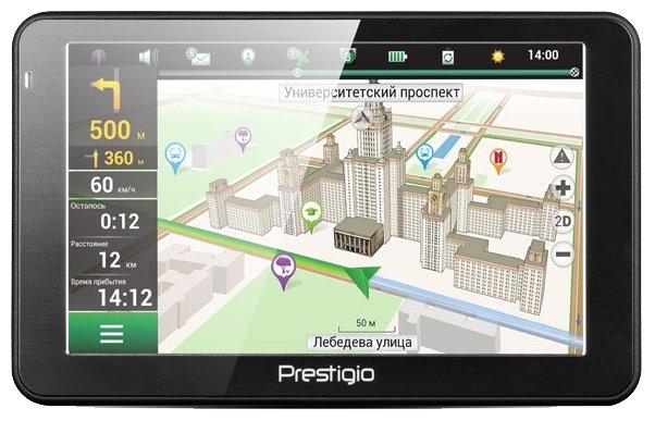 Prestigio Навигатор с радар-детектором Prestigio GeoVision 5068 Navitel
