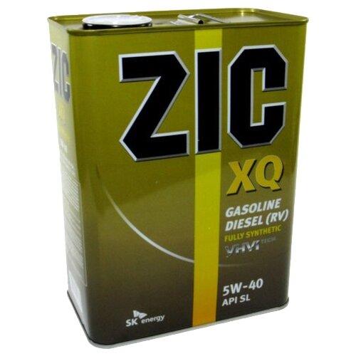 Фото - Моторное масло ZIC XQ 5W-40 4 л xq 100mwt