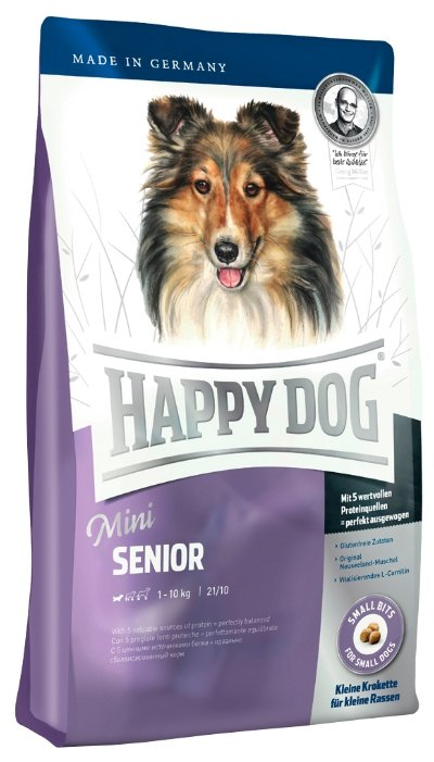 Корм для собак Happy Dog Supreme - Mini Senior для пожилых собак мелких пород
