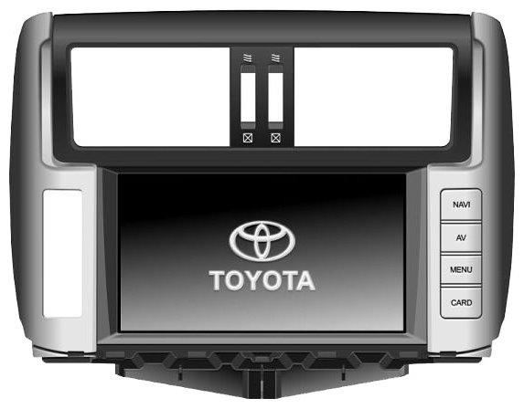 Автомагнитола FlyAudio E75102NAVI Toyota Prado 150