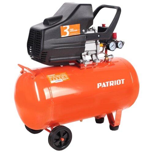 цена на Компрессор масляный PATRIOT Euro 50-260, 50 л, 1.8 кВт