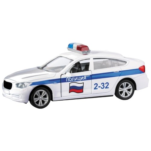 Легковой автомобиль Autogrand Bavaria Gran Turismo полиция (34251) 1:36 белый
