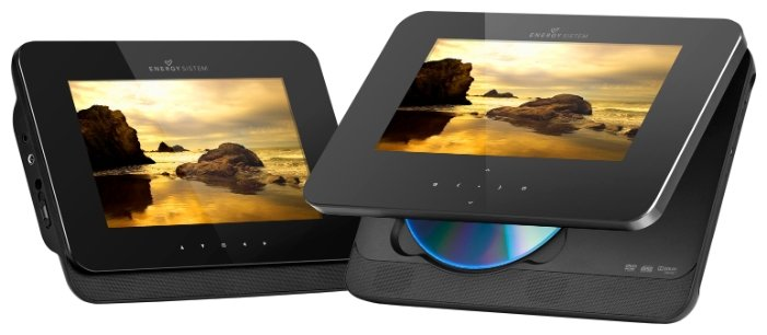 Energy Sistem Mobile DVD 472 Dual Screen