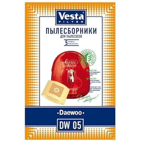 Vesta filter Бумажные пылесборники DW 05 5 шт.