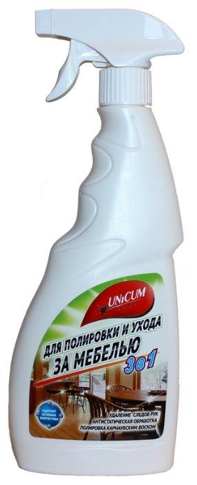 Unicum Средство для полировки и ухода за мебелью 3 в 1