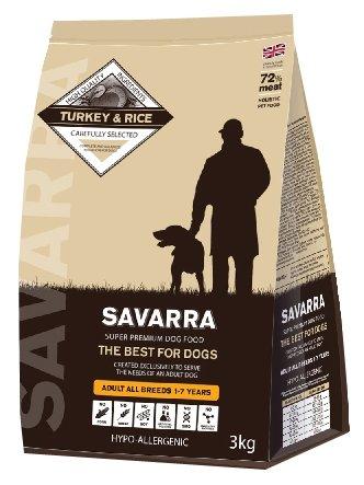 Корм для собак SAVARRA Adult All Breeds Dogs Turkey