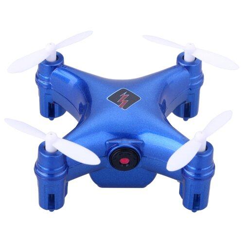 Квадрокоптер WL Toys Q343 синий пульт управления wl toys v911 rc