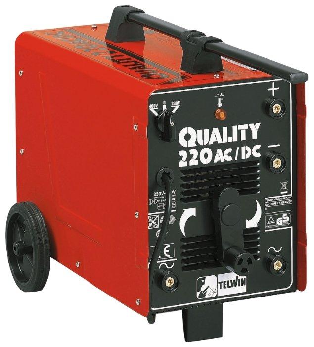 Сварочный аппарат Telwin Quality 220 AC/DC (MMA)