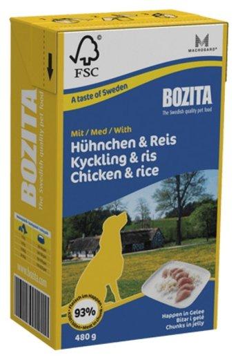 Корм для собак Bozita курица 480г