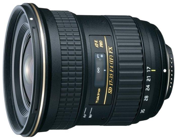 Объектив Tokina AT-X 17-35mm f/4 Pro FX Canon EF