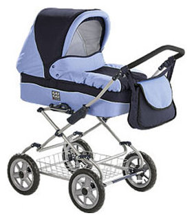 Коляска для новорожденных Deltim Gugu-Fox