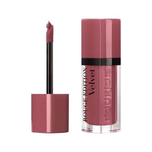 Bourjois жидкая помада для губ Rouge Edition Velvet, оттенок 07 Nude-ist bourjois bourjois rouge edition velvet plum plum girl помада для губ тон 14 7 мл