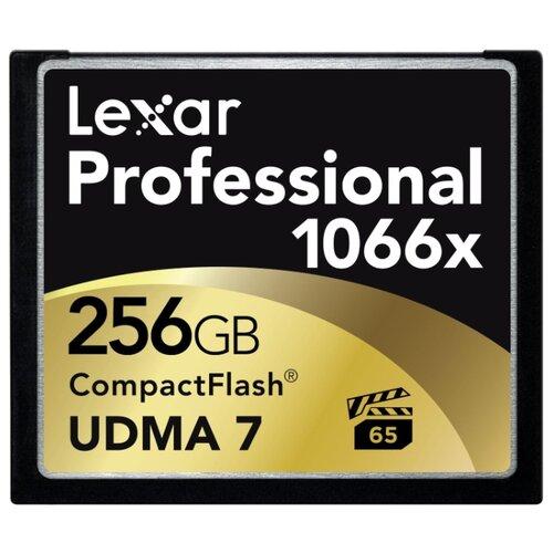 Карта памяти Lexar Professional 1066x CompactFlash 256GB