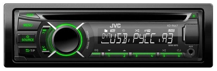 Автомагнитола JVC KD-R447EE