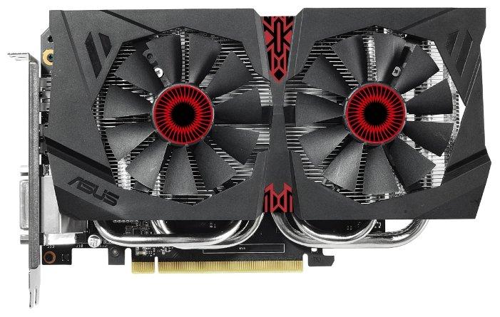 Видеокарта ASUS GeForce GTX 960 1126Mhz PCI-E 3.0 4096Mb 7010Mhz 128 bit DVI HDMI HDCP