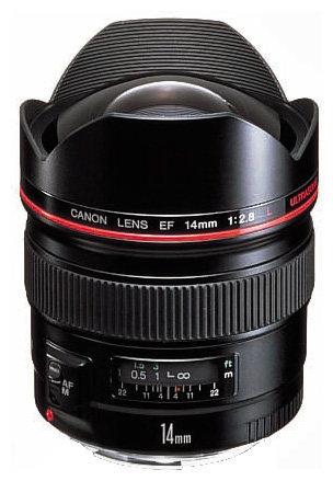 Объектив Canon EF 14mm f/2.8L USM