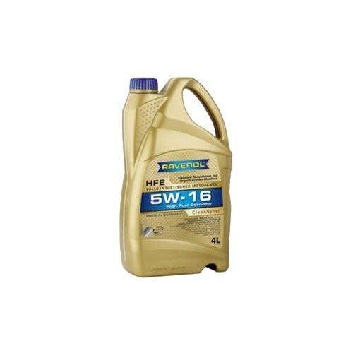 Моторное масло Ravenol High Fuel Economy HFE 5W-16 4 л