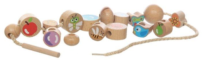 Шнуровка Игрушки из дерева Ассорти (Д414)
