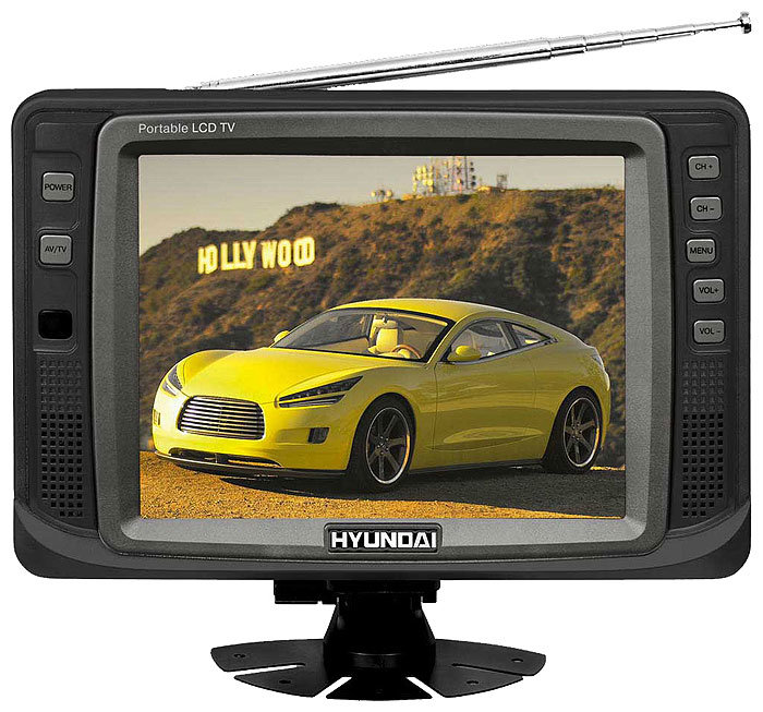 Автомобильный телевизор Hyundai H-LCD800
