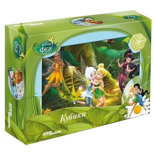 Кубики-пазлы Step puzzle Disney Феи 87159