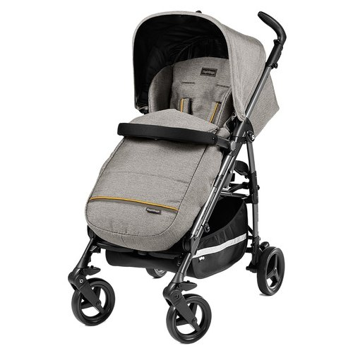 Купить Прогулочная коляска Peg-Perego Si Luxe grey, Коляски