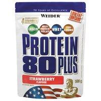 Протеин Weider Protein 80+ (500 г) клубника