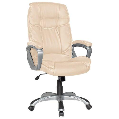 Компьютерное кресло College CLG-615 LXH для руководителя, обивка: искусственная кожа, цвет: бежевый