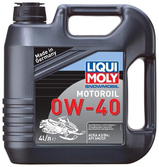Моторное масло LIQUI MOLY Snowmobil Motoroil 0W-40 4 л