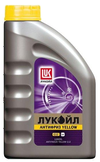 Антифриз ЛУКОЙЛ G12 Yellow желтый (1кг)
