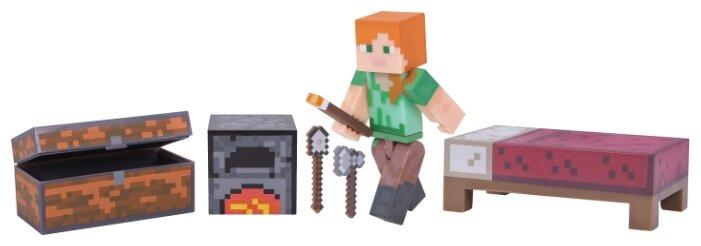 Игровой набор Jazwares Minecraft Алекс с набором для выживания 16471