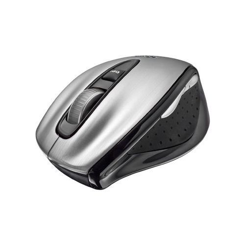 Мышь Trust Silverstone Wireless Laser Mouse Silver-Black USB
