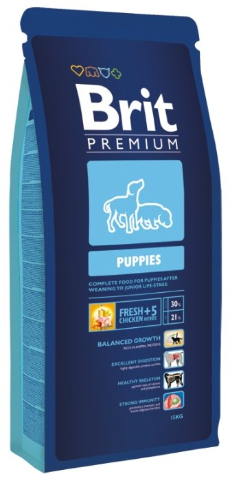 Brit Premium Puppies (15 кг)