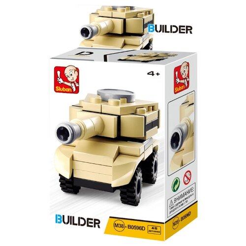 Купить Конструктор SLUBAN Builder M38-B0596D Армия Танк, Конструкторы