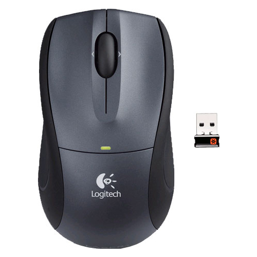 Мышь Logitech B605 Wireless Mouse Black USB