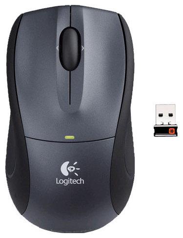 Мышь Logitech B605 Wireless Mouse Black USB